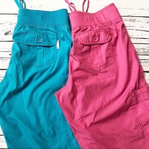 Peaches scrub pants bundle